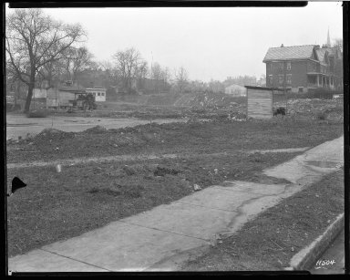Street Improvement Photographs -- Box 46, Folder 33 (Victory Parkway) -- negative, 1929