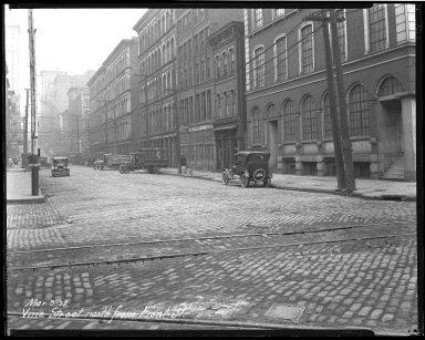 Street Improvement Photographs -- Box 46, Folder 35 (Vine Street) -- negative, 1927-03-09