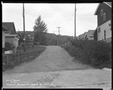 Street Improvement Photographs -- Box 46, Folder 39 (Vinewood Avenue) -- negative, 1932-08-03