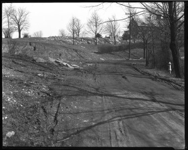 Street Improvement Photographs -- Box 46, Folder 41 (Vineyard Place) -- negative, 1924