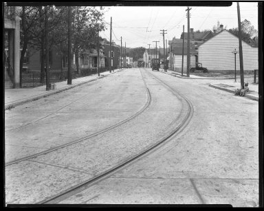 Street Improvement Photographs -- Box 46, Folder 43 (Virginia Avenue) -- negative, 1928