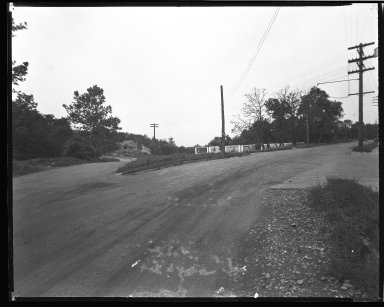 Street Improvement Photographs -- Box 46, Folder 44 (Vista Avenue) -- negative, 1928