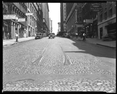 Street Improvement Photographs -- Box 46, Folder 47 (Walnut Street) -- negative, 1930-06-28