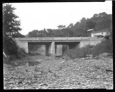 Street Improvement Photographs -- Box 47, Folder 14 (West Fork Road) -- negative, 1929