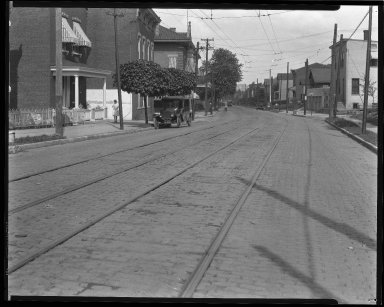 Street Improvement Photographs -- Box 47, Folder 15 (Westwood Avenue) -- negative, 1928