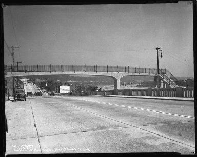 Street Improvement Photographs -- Box 47, Folder 19 (Whitaker Street) -- negative, 1938-09-24