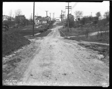 Street Improvement Photographs -- Box 47, Folder 20 (White Street) -- negative, 1929-04-04