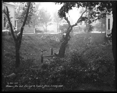 Street Improvement Photographs -- Box 47, Folder 22 (Wieman Avenue) -- negative, 1926-09-30