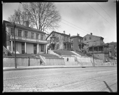Street Improvement Photographs -- Box 47, Folder 24 (Wilder Avenue) -- negative, 1938-03-21