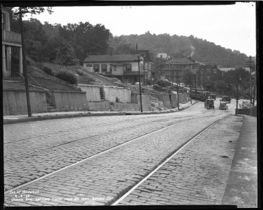 Street Improvement Photographs -- Box 47, Folder 24 (Wilder Avenue) -- negative, 1938-08-08