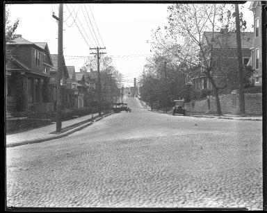 Street Improvement Photographs -- Box 47, Folder 28 (Windsor Street) -- negative, 1929