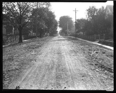 Street Improvement Photographs -- Box 47, Folder 29 (Windward Street) -- negative, 1929