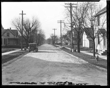 Street Improvement Photographs -- Box 47, Folder 30 (Windward Street) -- negative, 1929