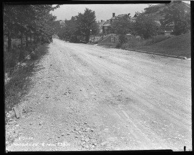 Street Improvement Photographs -- Box 47, Folder 35 (Woodburn Avenue) -- negative, 1926-06-30
