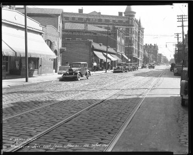 Street Improvement Photographs -- Box 47, Folder 36 (Woodburn Avenue) -- negative, 1931-06-17