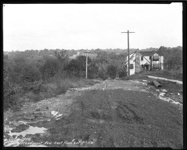 Street Improvement Photographs -- Box 47, Folder 44 (Woodmont Avenue (south)) -- negative, 1926-10-04