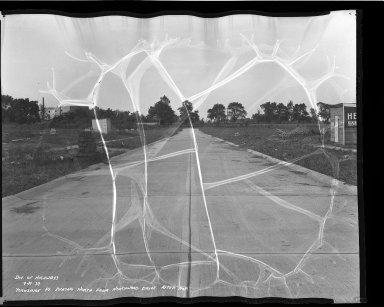 Street Improvement Photographs -- Box 47, Folder 50 (Yorkshire Place) -- negative, 1939-09-19