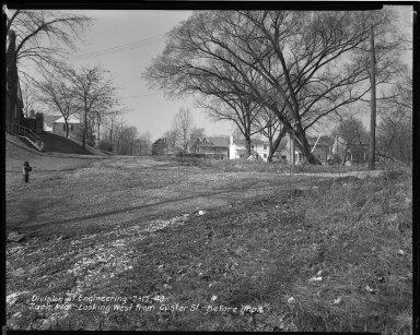Street Improvement Photographs -- Box 47, Folder 52 (Zaeh Avenue) -- negative, 1949-02-17