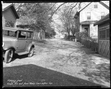 Street Improvement Photographs -- Box 47, Folder 53 (Ziegle Avenue) -- negative, 1931-04-29