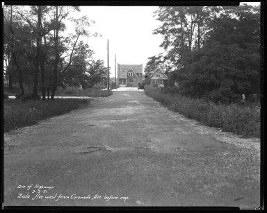 Street Improvement Photographs -- Box 47, Folder 55 (Zula Avenue) -- negative, 1931-09-03
