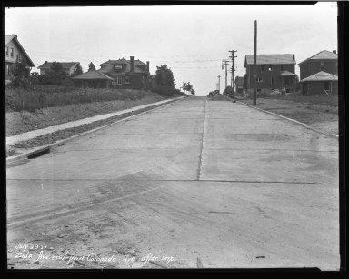 Street Improvement Photographs -- Box 47, Folder 55 (Zula Avenue) -- negative, 1927-07-29