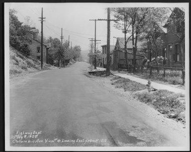 Street Improvement Photographs -- Box 48, Folder 01 (May 9, 1929) -- print, 1929-05-09