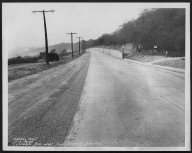 Street Improvement Photographs -- Box 48, Folder 02 (October 10, 1930 - March 12, 1931) -- print, 1930-10-10