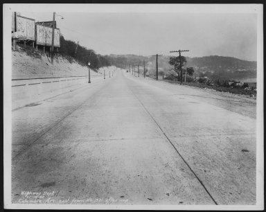 Street Improvement Photographs -- Box 48, Folder 02 (October 10, 1930 - March 12, 1931) -- print, 1930-10-19