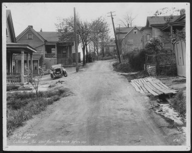 Street Improvement Photographs -- Box 48, Folder 03 (March 12, 1931 - April 29, 1932) -- print, 1932-04-29