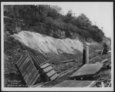Street Improvement Photographs -- Box 48, Folder 05 (June 8, 1932 - September 9, 1932) -- print, 1932-08-25