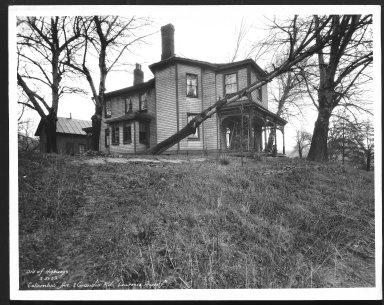 Street Improvement Photographs -- Box 48, Folder 07 (December 27, 1932 - November 9, 1933) -- print, 1933-03-21