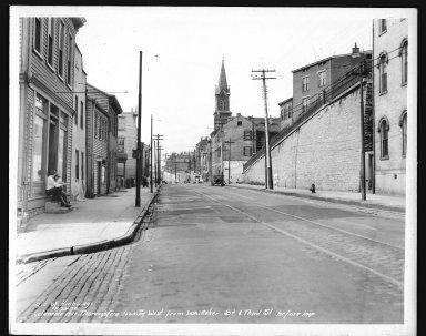 Street Improvement Photographs -- Box 48, Folder 15 (August 20, 1936) -- print, 1936-08-20