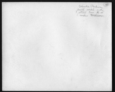 Street Improvement Photographs -- Box 48, Folder 23 (September 1, 1937 - September 4, 1937) -- print, 1937-09-01 (back of photograph)