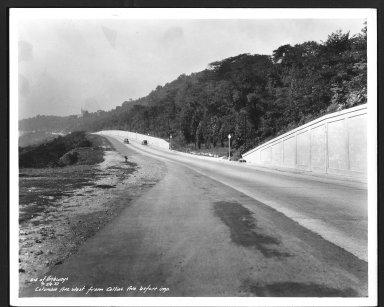 Street Improvement Photographs -- Box 48, Folder 29 (September 24, 1937 - October 23, 1937) -- print, 1937-09-24