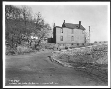 Street Improvement Photographs -- Box 48, Folder 31 (March 1, 1938 - March 21, 1938) -- print, 1938-03-21