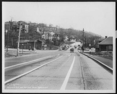 Street Improvement Photographs -- Box 48, Folder 34 (November 6, 1938 - November 7, 1938) -- print, 1938-11-06
