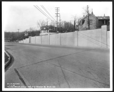 Street Improvement Photographs -- Box 48, Folder 34 (November 6, 1938 - November 7, 1938) -- print, 1938-11-07