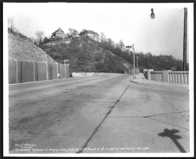Street Improvement Photographs -- Box 48, Folder 35 (November 6, 1938 - November 27, 1938) -- print, 1938-11-27