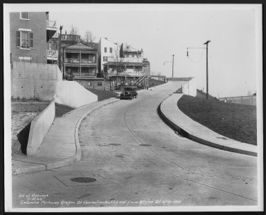 Street Improvement Photographs -- Box 48, Folder 35 (November 6, 1938 - November 27, 1938) -- print, 1938-11-27