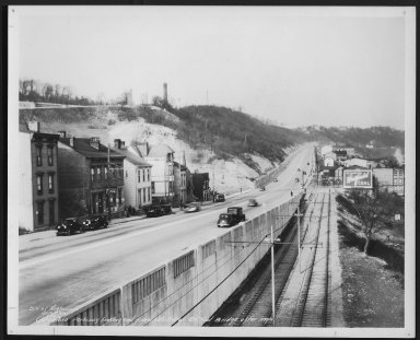 Street Improvement Photographs -- Box 48, Folder 36 (November 30, 1938 - December 28, 1938) -- print, 1938-11-30