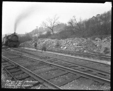 Street Improvement Photographs -- Box 50, Folder 02 (May 9, 1929 - January 17, 1935) -- negative, 1930-04-10