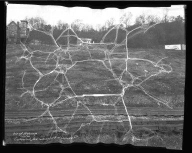 Street Improvement Photographs -- Box 50, Folder 02 (May 9, 1929 - January 17, 1935) -- negative, 1935-01-17
