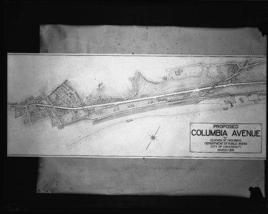 Street Improvement Photographs -- Box 50, Folder 02 (May 9, 1929 - January 17, 1935) -- negative, 1935-03-01