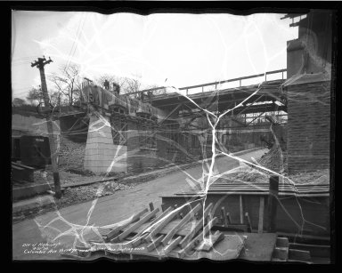 Street Improvement Photographs -- Box 50, Folder 05 (April 21, 1936 - June 23, 1936) -- negative, 1936-04-21