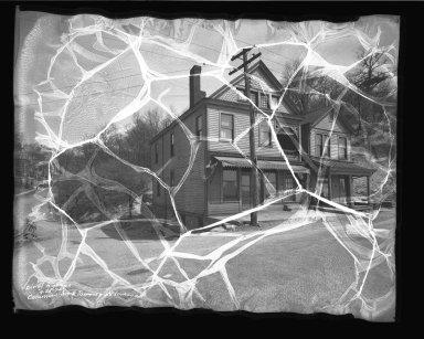 Street Improvement Photographs -- Box 50, Folder 05 (April 21, 1936 - June 23, 1936) -- negative, 1936-04-25