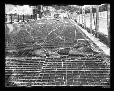 Street Improvement Photographs -- Box 50, Folder 05 (April 21, 1936 - June 23, 1936) -- negative, 1936-06-23
