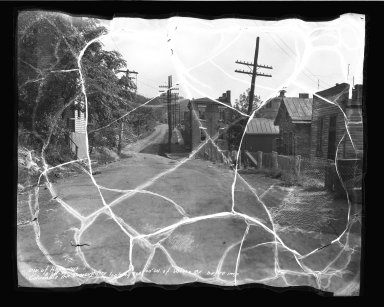 Street Improvement Photographs -- Box 50, Folder 06 (August 20, 1936 - September 27, 1936) -- negative, 1936-08-20