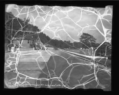 Street Improvement Photographs -- Box 50, Folder 06 (August 20, 1936 - September 27, 1936) -- negative, 1936-09-09