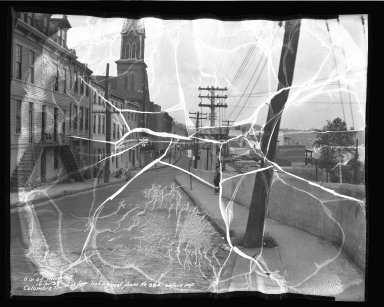 Street Improvement Photographs -- Box 50, Folder 07 (October 21, 1936) -- negative, 1936-10-21