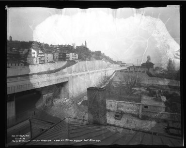 Street Improvement Photographs -- Box 50, Folder 09 (November 6, 1936 - December 4, 1936) -- negative, 1936-11-06